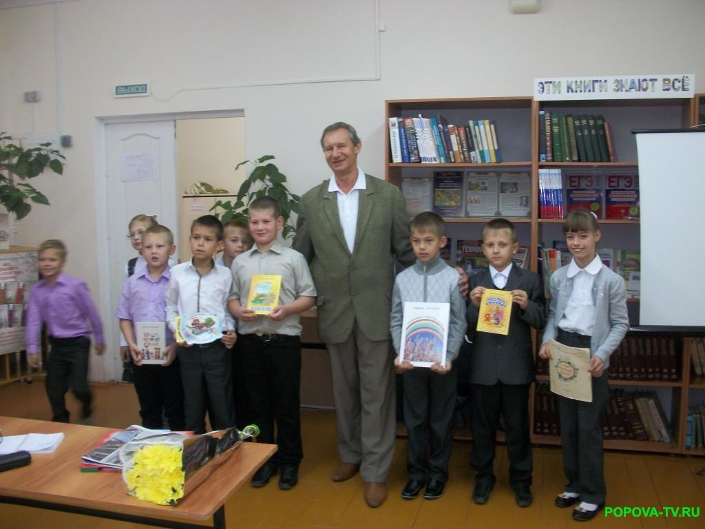 Встреча с Брюховецким писателем, членом союза писателей Вдадимиром Нестеренко