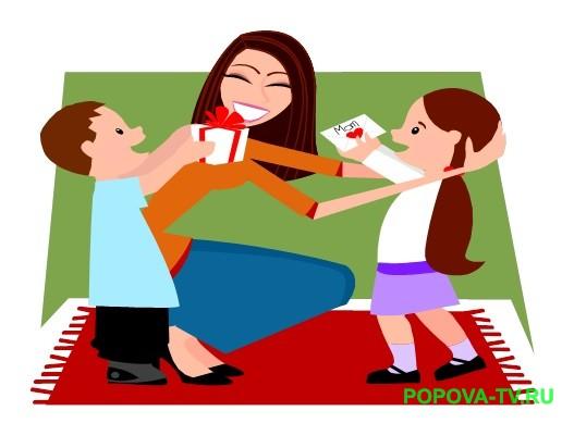 День матери - утренник в начальной школе